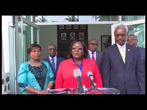 Abidjan : Le Premier Ministre Amadou Gon Coulibaly a reçu une délégation de la COP2 (la Convention des Parties de Bamako)