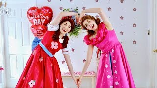 """Dance with Poppy & Posie to """"Would You Be My Valentine?"""" - Valentine's Day Song an"""