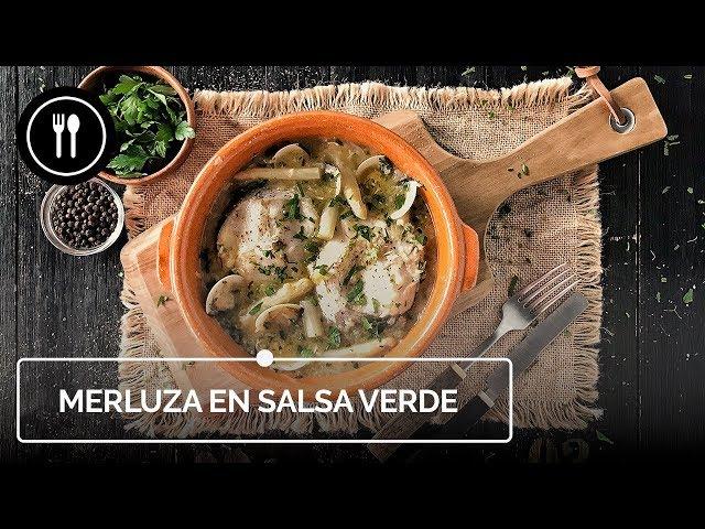 Cómo hacer deliciosa MERLUZA EN SALSA VERDE | Directo al paladar