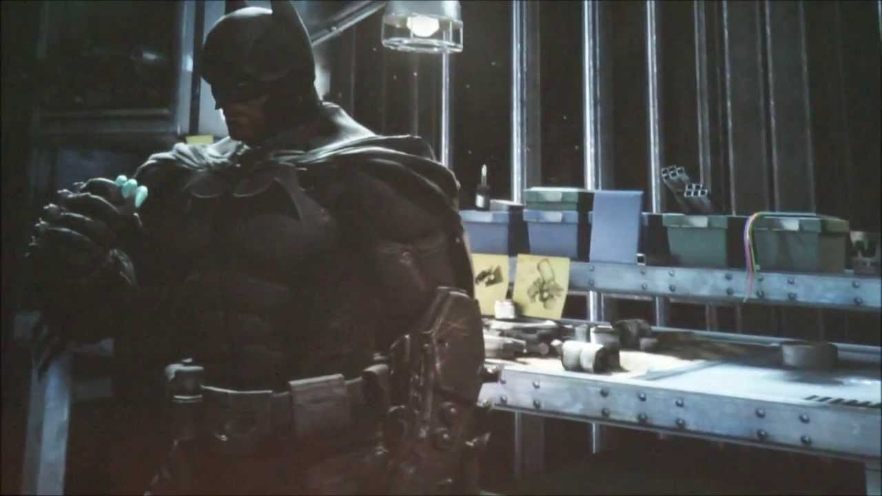 Arkham Origins Video: Inside Bruce Wayne's Batcave