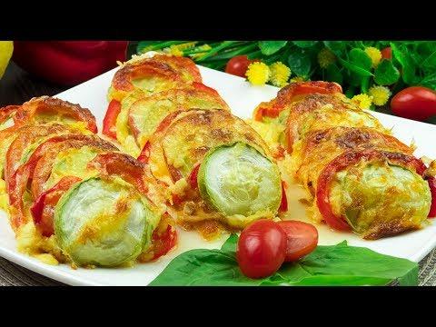 Top 5 platos con calabacín que querrás probarlos − ¡Recetas sencillas y rápidas! | Gustoso. TV