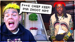 6IX9INE Runs Into Chief Keef Beef / Drama