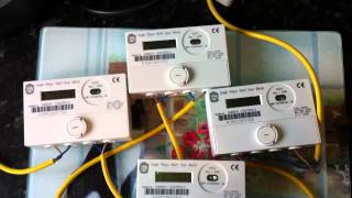 preview picture of video 'Ampy 5196A kWh meter'