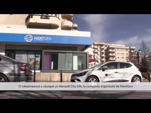 O câmpineancă a câștigat un Renault Clio Life, la campania organizată de NextGen