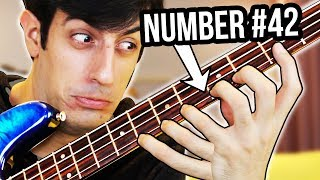 50 Ways To Play A Bass (Number 42 Will BLOW YOUR MIND)