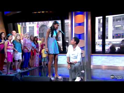 Me & You by Tyler James Williams & Coco Jones on Good Morning America 06/13/2012