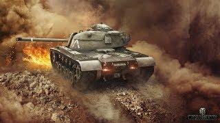 Стрим по World of Tanks Blitz | Путь к M48 Patton #2