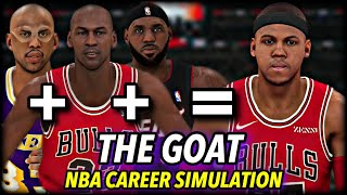 I Made The Greatest NBA Player Ever & Watched Him Break Every Record... | NBA 2K20 Career Simulation