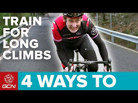 4 Ways To Train For Long Climbs