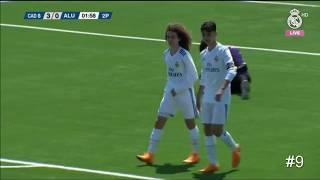 Israel Salazar Vs Aluche   Real Madrid 'Cadete B' (U15)   All Touches