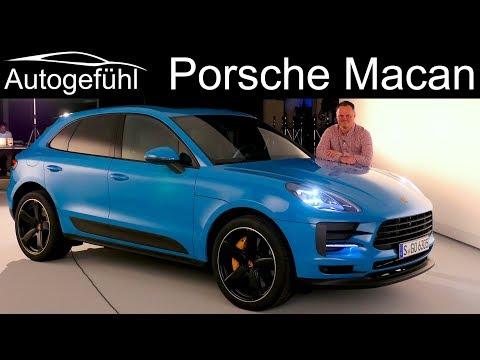 Porsche Macan Facelift REVIEW Exterior Interior 2019 – Autogefuhl