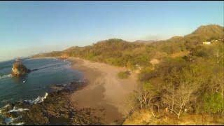 Beautiful Sunset FPV Free Flight at Playa Real