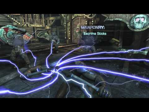 Here's Nightwing In Action In Batman: Arkham City