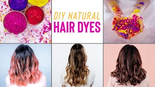 How To Naturally DYE Your Hair AT HOME Without Any Damage!