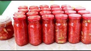 腌西红柿的季节到了!一次买20斤腌制起来,365天不会坏