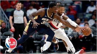 Damian Lillard spoils Julius Randle's career game in Blazers win vs. Pelicans | NBA Highlights
