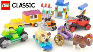 LEGO Classic Bricks On A Roll (10715) - Toy Unboxing And Building Ideas
