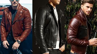 Most Attractive Leather Jacket Design 2019-20   Latest Leather Jacket For Men