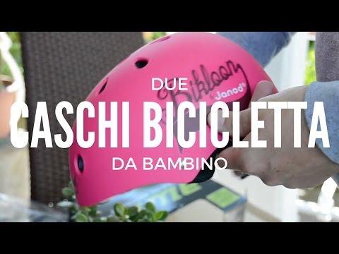 Unboxing caschetti da bici per bambini, bmx e skating - recensione prodotto