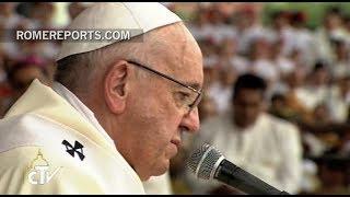 Tercer día del Papa Francisco en Colombia