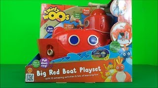 Twirlywoos Big Red Activity Boat Toy Unboxing Opening 2017