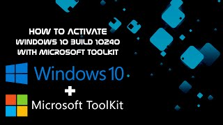 How to activate windows 10 using microsoft toolkitwindows 10 how to activate windows 10 rtm build 10240 permanently ccuart Choice Image