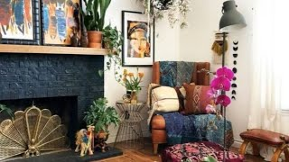 #InteriorDesign | Gorgeous Bohemian Living Room Decor
