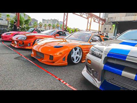 06BASEのカッコ良すぎるカスタムカーショー。日本でワイスピを感じられるカッコイイ車ばかりが集結