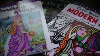 Dover/Creative Haven Haul - Books, Coloring & Stationary