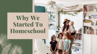 WHY WE HOMESCHOOL | HOMESCHOOL FAMILY | HOW TO START HOMESCHOOLING | BOOKS FOR HOMESCHOOLERS