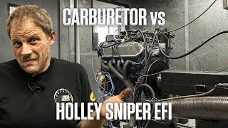 Is it worth it? Replacing your carburetor with a Holley Sniper EFI | Hagerty DIY