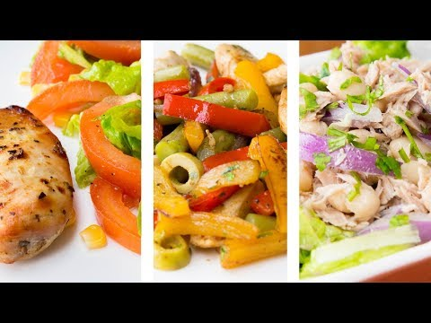 3 Low Carb High Protein Recipes For Weight Loss | Fast And Easy!