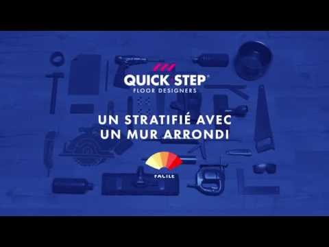 Comment poser un sol stratifi quick step sols for Comment poser un sol stratifie