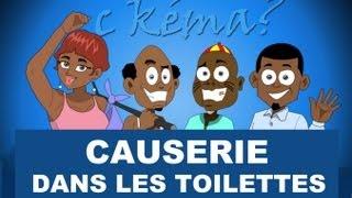 C Kéma   Causerie Dans Les Toilettes  Chat In The Toilet