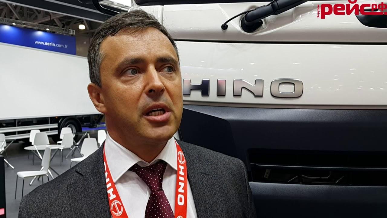HINO Motors представила обновленные грузовики 500-й серии