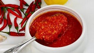 Red Hot Chili Peppers Sauce ساس مرچ سرخ مخصوص کباب ها