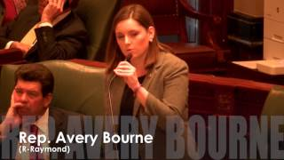 Bourne speaks to the vote on House Rules