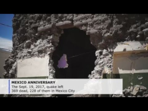 Pain, resignation hang over central Mexico 2 years after devastating quake