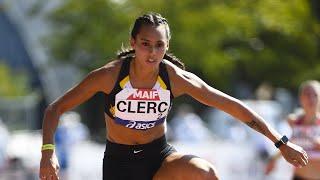 Albi 2020 : Finale 400 m haies F (Farah Clerc en 57''91)