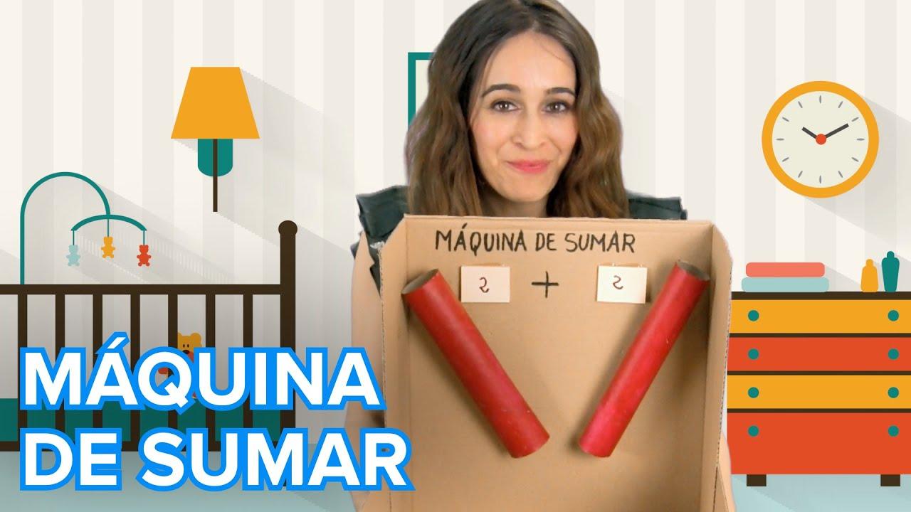 Cómo hacer una máquina de sumar | Matemáticas para niños