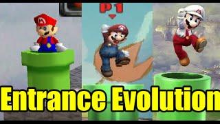 Evolution of Entrances in Super Smash Bros (Comparison)