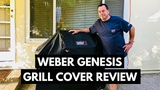 Weber Genesis Grill Cover Review - Premium Grill Cover