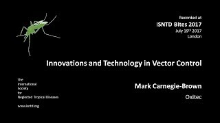 Mark Carnegie-Brown (Oxitec): Advanced genetics & molecular biology for Aedes control
