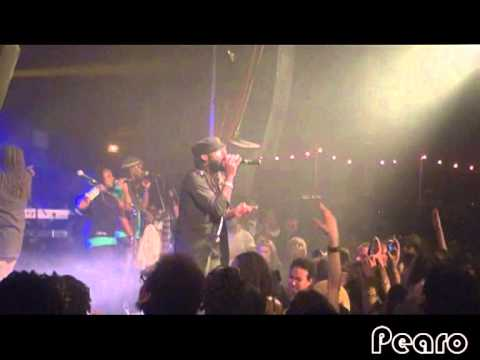 Tarrus Riley live in Paris - 18 Avril 2012 - She's royal -  & - Good girl gone bad feat Taïro -
