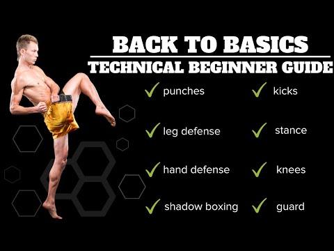 Back To Basics | Technical Beginner's Guide To Kickboxing