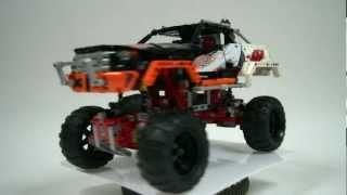 LEGO Technic 9398 4x4 Crawler Review & Time Lapse Build