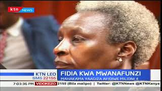 Mahakama ya juu imefidia mwanafunzi aliyekamatwa na bangi kwa kudhalilishwa na polisi
