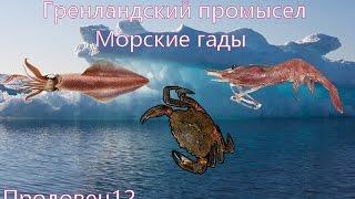 Морская рыбалка в гренландии