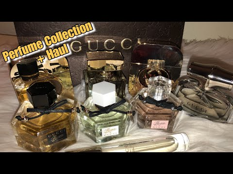 Gucci Perfume Haul | Adding to my HUGE Perfume Collection