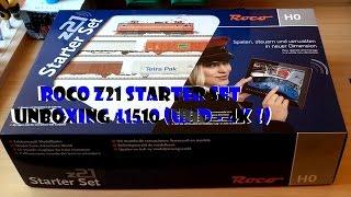 Roco z21 starter set UNBOXING 41510 (UHD - 4K !)
